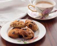 Olive Oil & Cranberry Cookies Recipe