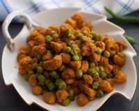 Soya Chunk And Green Peas Sabzi Recipe
