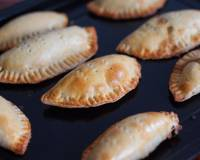 Spicy Mushroom Puffs Recipe (Empanadas stuffed with Mushroom Recipe)