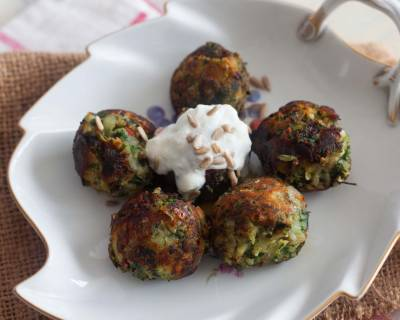 Spinach And Sweet Potato Bombs Recipe