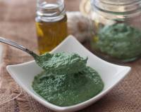 Spirulina and Mint Basil Pesto Recipe