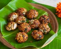 Tamil Nadu Style Dal Masala Vada with Cabbage Recipe