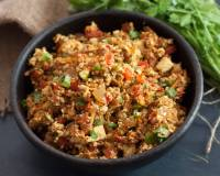 Tofu Bhurji Recipe - Spicy Scrambled Tofu