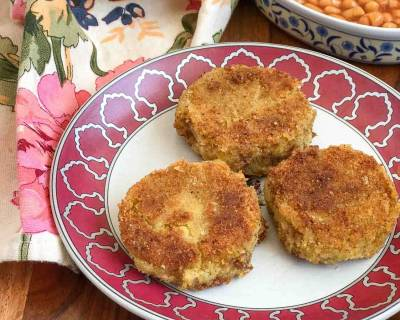 High Protein Chickpea Potato Hash Brown Recipe