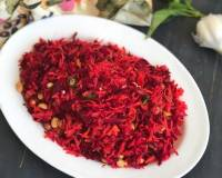 Beetroot Gajar Mooli Salad Recipe - Radish & Beetroot Salad