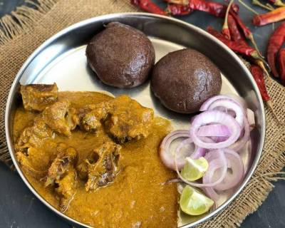 Dinner Anyone? How About A Delicious Ragi Mudde & Mutton Saaru