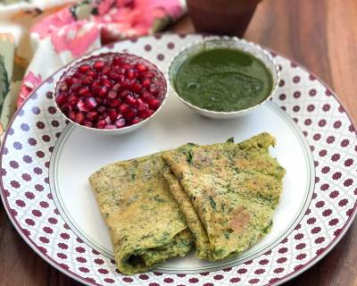 Sprouted Moong and Methi Cheela Recipe - A Healthy Breakfast