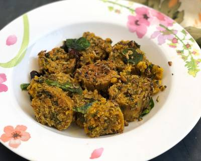 Oats Methi Muthia Recipe-Healthy Diabetic Friendly Muthia