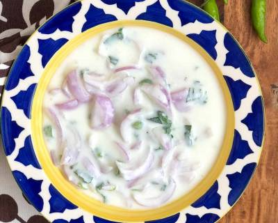Onion Raita Recipe - Pyaz Ka Raita Recipe