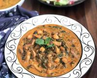 Spinach Mushroom Chickpea Curry Recipe
