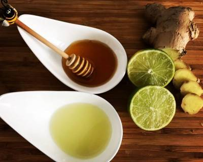 Ginger, Lemon And Honey Kadha Recipe