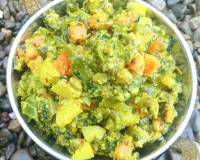 Mixed Vegetable Koora Recipe - Mixed Vegetable Poriyal