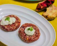 Beetroot And Chickpea Kebab/Tikki Recipe - Evening Snack