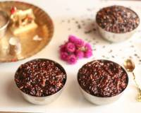 Chettinad Kavuni Arisi Sweet Recipe (Black Rice Pudding)