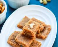 Coconut Jaggery Burfi Recipe