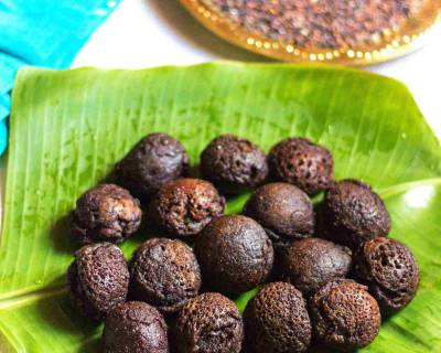 Kavuni Arisi Paniyaram Recipe (Black Rice Paniyaram Recipe)