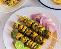 Pineapple Mushroom Tikka Recipe With Tandoori Masala
