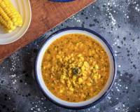 Corn Methi Malai Gravy Recipe