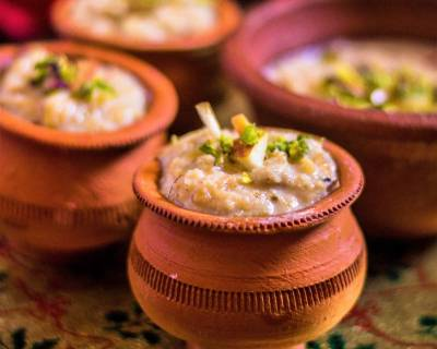 Oats Apple Phirni Recipe
