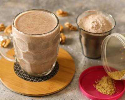 Sweet Ragi Malt Recipe - Healthy Ragi Kanji/ Porridge Recipe