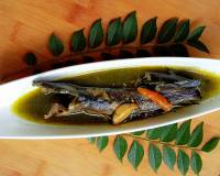Assamese Style Walking Catfish In Curry Leaf Gravy Recipe