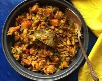 Bandhakopir Ghonto Recipe (Bengali Style Cabbage Fry)