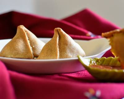 Baked Cauliflower Samosa Recipe
