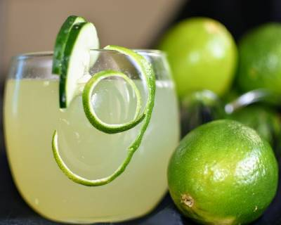 Cucumber Honey Limeade Recipe