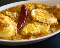 Dim Posto Recipe - Bengali Egg Curry With Poppy Seeds