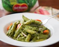 Penne Pasta Recipe In Spinach Pesto Sauce