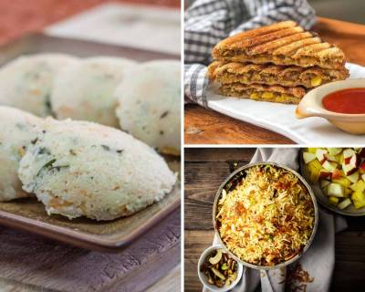 Kids Lunch Box Menu Plan-Rava Idli,Potato Wrap,Penne Pasta&More