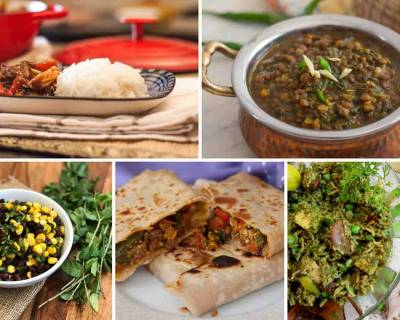 Weeknight Dinners : Make Your Weeknight Dinners With Veg Mughlai Paratha, Methi Masoor Dal and More