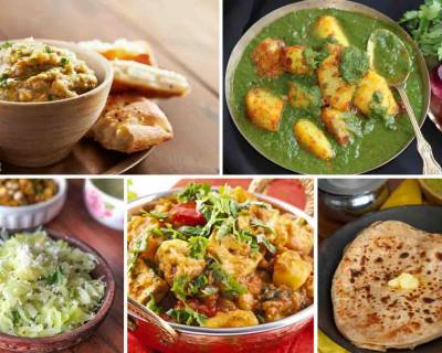 Weeknight Dinners : Make Your Meals With Hariyali Dum Aloo, Paneer Jalfrezi and More