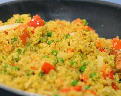 Quinoa and Vegetable Saute Recipe