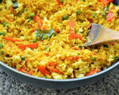 Curry Fried Quinoa Rice Recipe