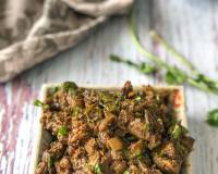 Andhra Chicken Liver Fry Recipe