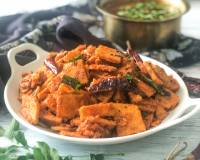 Chenai Kizhangu Poriyal Recipe-Yam Poriyal Recipe