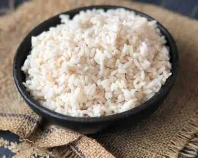 Matta Rice/ Chemba Rice Recipe-Pressure Cooker Method