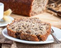 Eggless Banana and Date Loaf Recipe