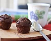Eggless Dark Chocolate Cupcake Recipe
