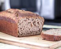 Eggless Ragi Banana Bread Recipe-Finger Millet & Whole Wheat Banana Cake
