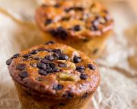 Eggless Banana Walnut Chocolate Chip Muffin Recipe-Vegan Options