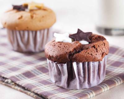 Eggless-Quick and Easy Chocolate Cupcake Recipe