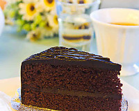 Devil's Food Cake Made From Archana's Kitchen Eggless Rich Chocolate Cake Mix