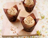 Eggless Peanut Butter Cupcake Recipe