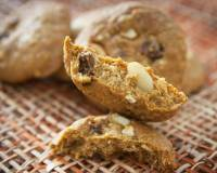 Chocolate Almond Raisin Cookie Recipe