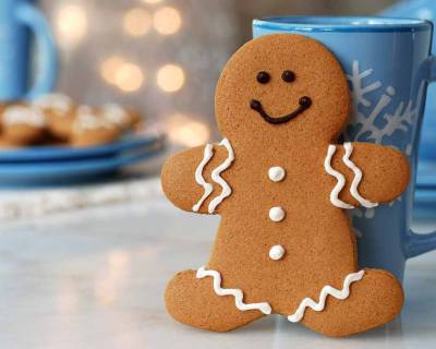 Gingerbread Man Whole Grain Cookie Recipe