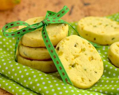 Pistachio Lemon Cookie Recipe