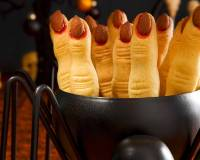 Eggless Spooky Witch Finger Cookie Recipe (Perfect Halloween Cookies)