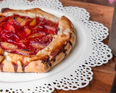 Plum Galette Recipe With A Flaky Whole Wheat Pie Crust